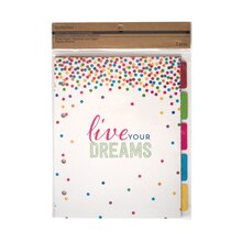 Craft It Organize It Divider Pages with Tabs by Recollections