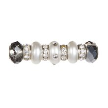 Silver & Pearl Mix Beads by Bead Landing Bits & Baubles, Close Up