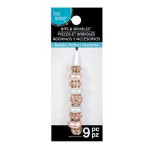 Rose Gold & Pearl Mix Beads by Bead Landing Bits & Baubles