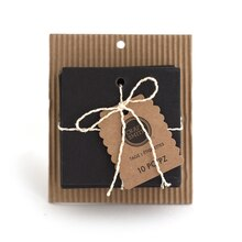 Craft Smith Square Chalkboard Tags