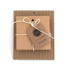 Craft Smith Square Chipboard Tags