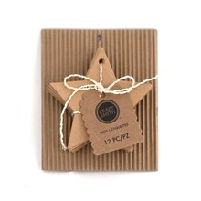 Craft Smith Star Chipboard Tags