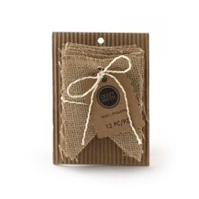 Craft Smith Banner Burlap Tags