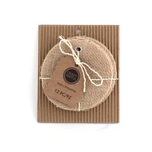 Craft Smith Circle Burlap Tags