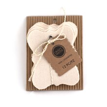 Craft Smith Shield Canvas Tags