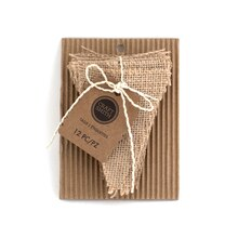 Craft Smith Triangle Burlap Tags