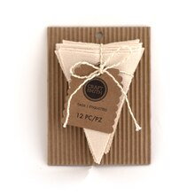 Craft Smith Triangle Canvas Tags