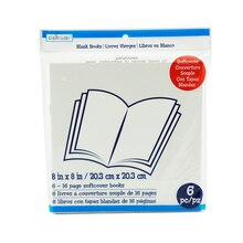 "8"" x 8"" Softcover Blank Books by Creatology"