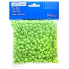 Opaque Pony Beads By Creatology, Lime Green