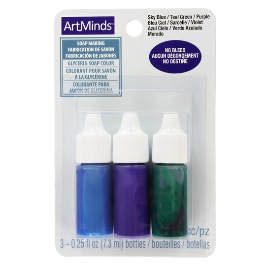 Buy the Glycerin Soap Color by ArtMinds™, Cool Colors at Michaels