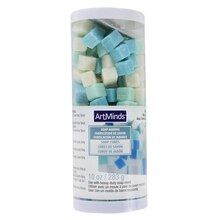 Blue, Teal & White Soap Cubes by ArtMinds