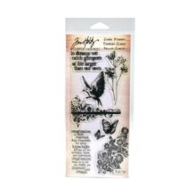 Tim Holtz Clear Stamps, Flights of Fancy