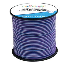 Purple Blend Plastic Lacing Cord by Creatology
