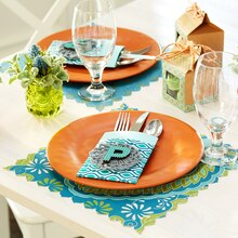 Boho Spring Silverware Pocket Place Setting, medium
