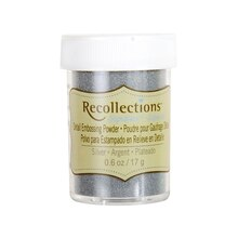 Detail Embossing Powder by Recollections Signature, Silver