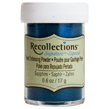 Pearl Embossing Powder by Recollections Signature, Sapphire