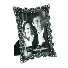 "5"" x 7"" Midnight Jeweled Frame by Studio Decor Expressions, Angled"