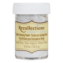 Sparkle Embossing Powder by Recollections Signature, Opaque Bling