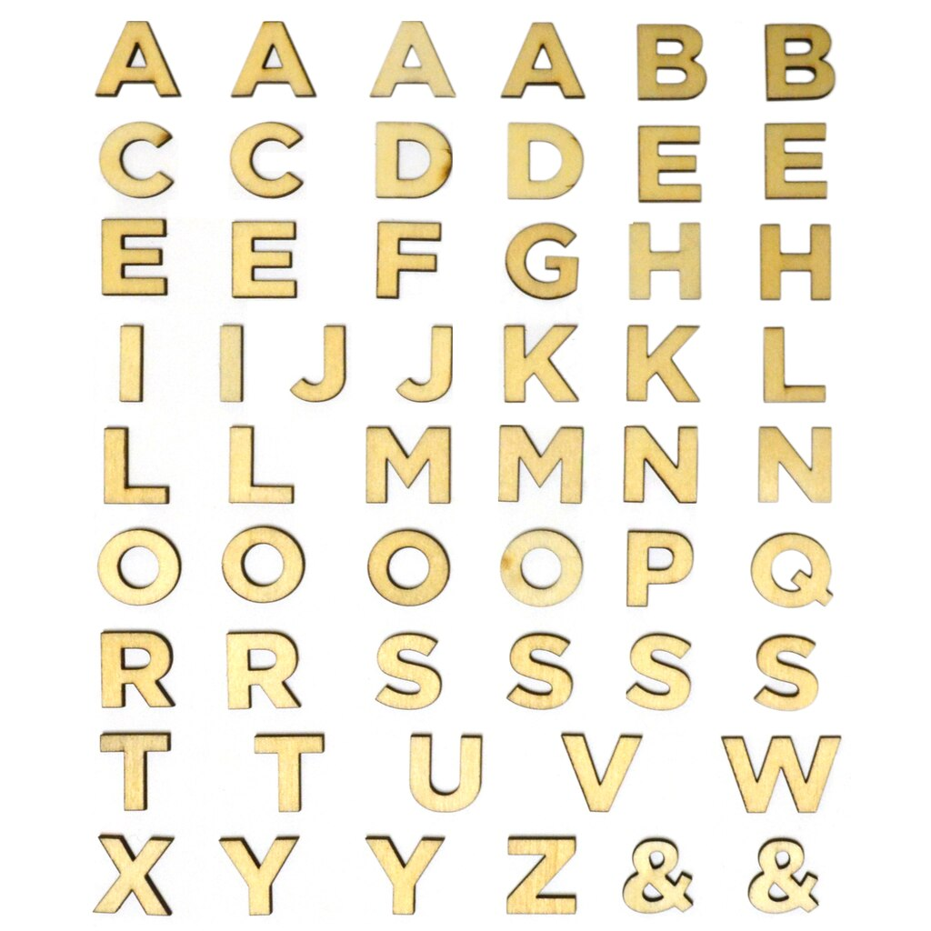 Buy The 3 4 Quot Wood Block Letters By Artminds At Michaels
