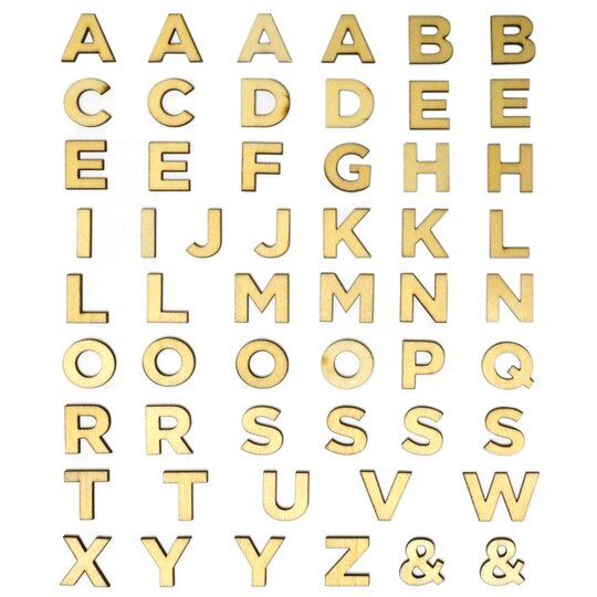 Buy The 3 4 Wood Block Letters By ArtMindsTM At Michaels
