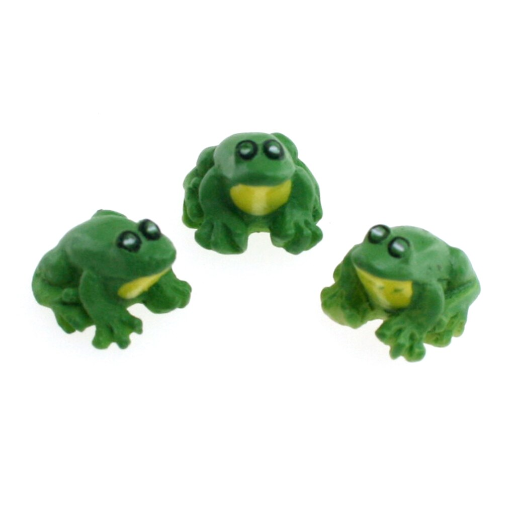 shop for the sparrow innovations miniatures sitting frogs at michaels