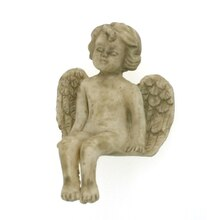 Sparrow Innovations Miniatures Sitting Angel Statue