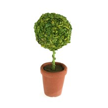 Sparrow Innovations Miniatures Topiary In Clay Pot