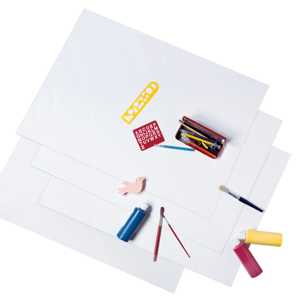 Buy the White Heavy Poster Board by Creatology® at Michaels