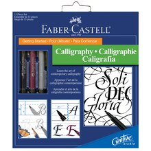 Faber-Castell Creative Studio Getting Started with Calligraphy Set