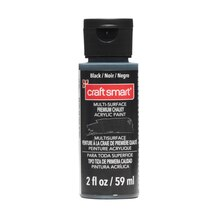 Multi-Surface Premium Chalky Acrylic Paint By Craft Smart, 2 oz. Black