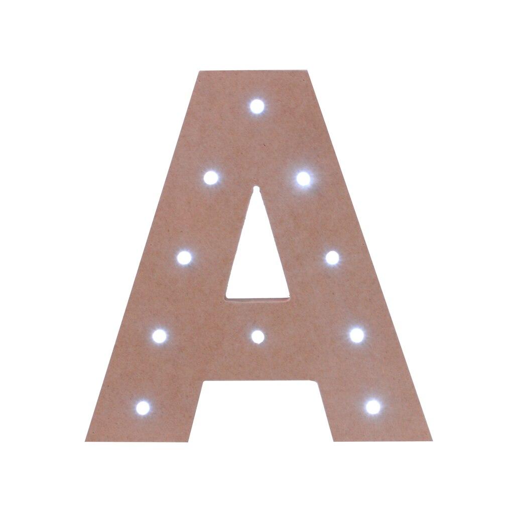 make markettm led letter 7quot With led letters michaels