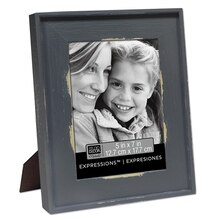 "Studio Décor Expressions Country Frame, 5"" x 7"" Gray"