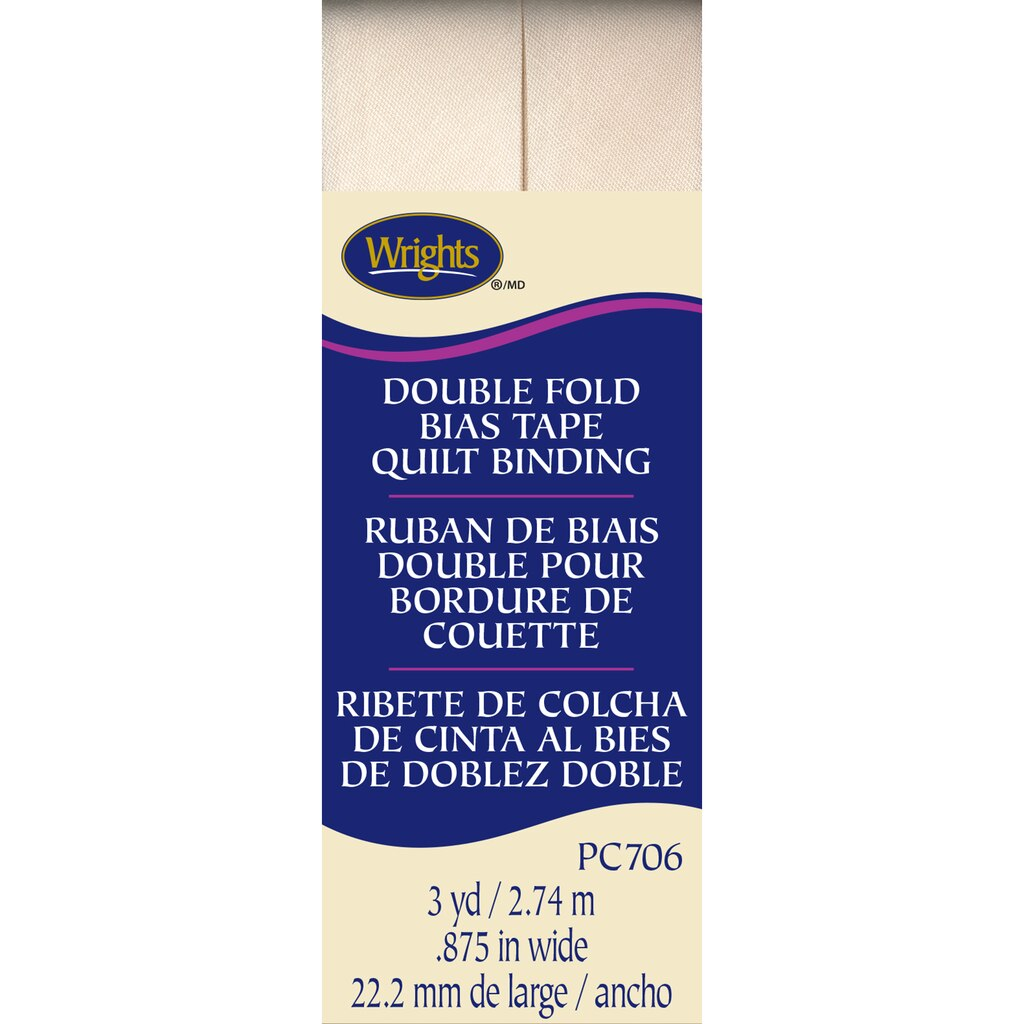 Find the Wrights® Double Fold Quilt Binding Bias Tape at Michaels : bias tape quilt binding - Adamdwight.com