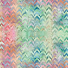 Watercolor Chevron Paper by Recollections