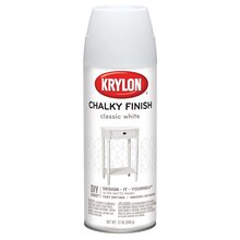 Krylon Chalky Finish Paint, Classic White