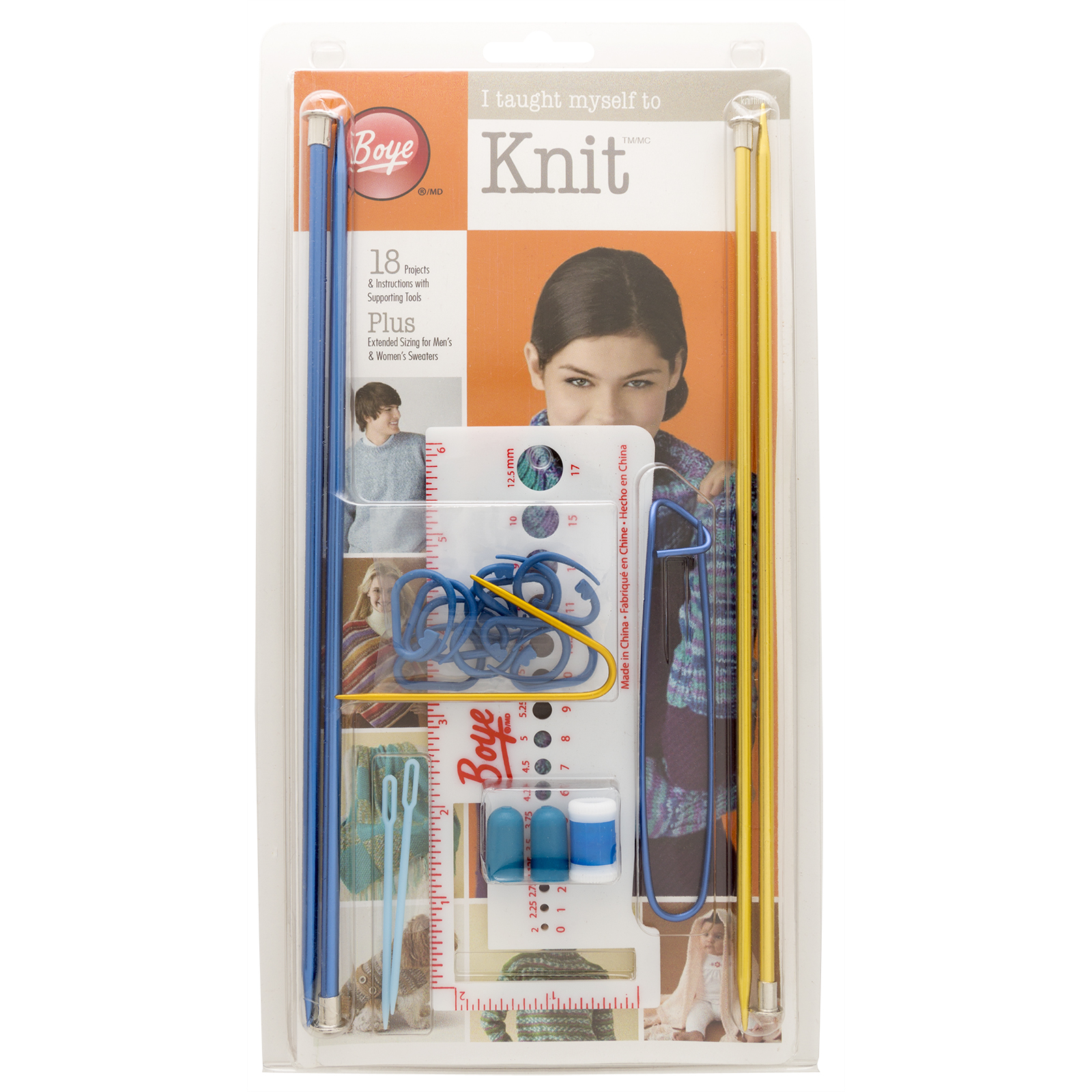 Knitting Kits Michaels : Find the boye i taught myself to knit™ kit at michaels
