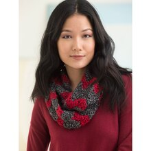 Bobble Ripple Cowl, medium