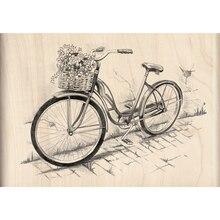 Inkadinkado Sketches Stamp, Bicycle