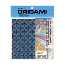 Aitoh Double-Sided Origami Paper, Damask