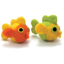 Dimensions Round & Woolies Needle Felting Kit, Fish