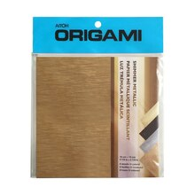 Aitoh Origami Paper, Shimmer Metallic