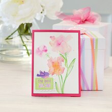 Mother's Day Watercolor Floral Card, medium