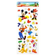 SandyLion Disney Mickey Mouse Club House Flat Stickers, Mickey & Friends