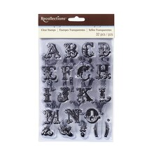 Circus Alphabet Clear Stamps by Recollections