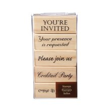 Invitation Stamp Set by Recollections