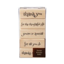 Thank You Stamp Set by Recollections
