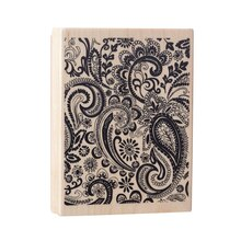 Paisley Wood Stamp by Recollections