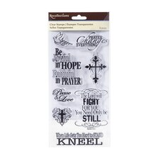 Faith Clear Stamps by Recollections