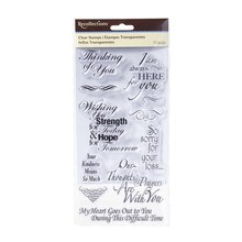 Sympathy Clear Stamps by Recollections