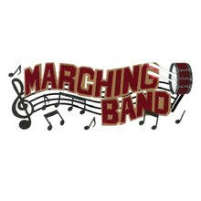 Jolee's Boutique Dimensional Title Sticker, Marching Band